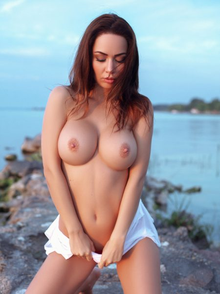 Adrienn Levai nude for Playboy