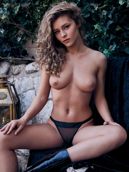 Alice Antoinette nude for Playboy