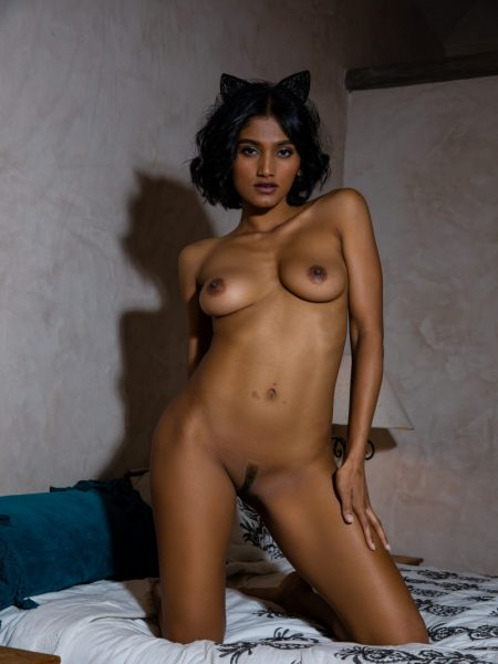 Angel Constance in Setting The Mood nude for Playboy