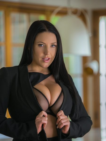 Angela White nude for Playboy