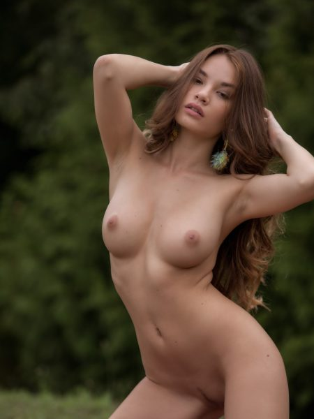 Clara in Acoustic Serenity nude for Playboy