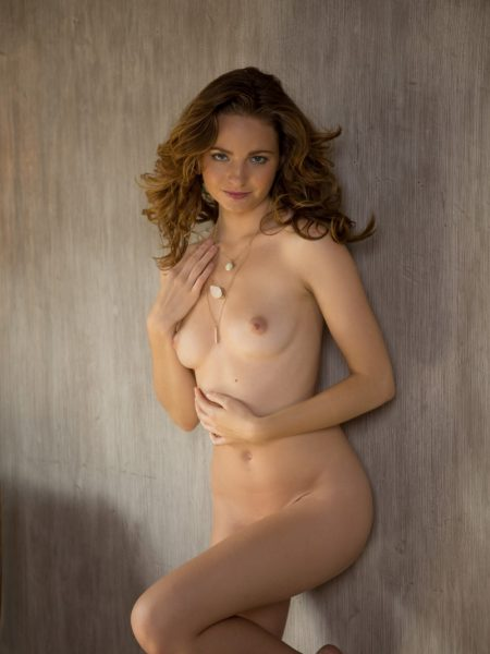 Evelyn Sommer in Totally Angelic nude for Playboy