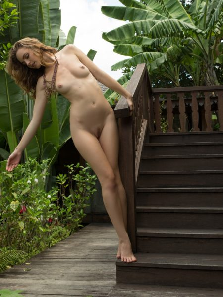 Evelyn Sommer in Bali nude for Playboy