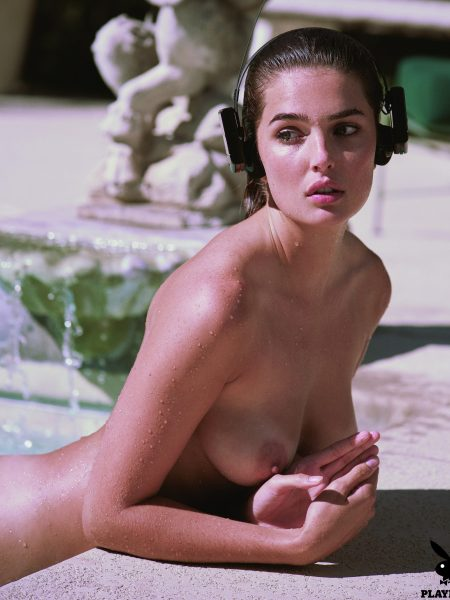 Jessica Wall nude for Playboy