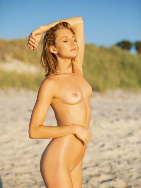 July Miller nude for Playboy