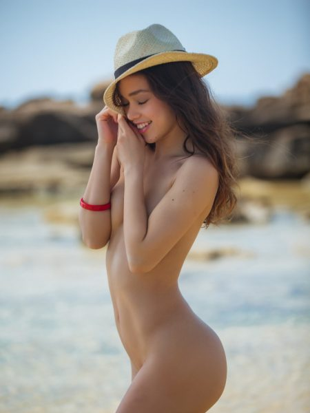Kit Rysha nude for Playboy