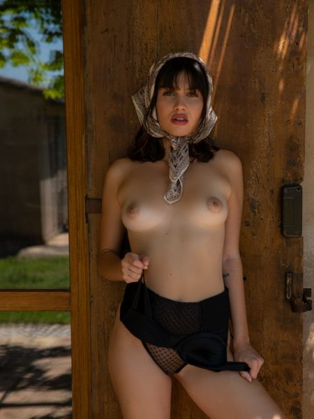 Laura Devushcat in Countryside Escape nude for Playboy