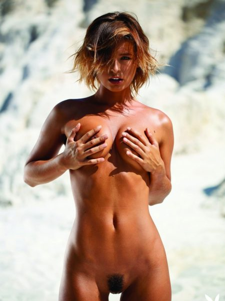 Marisa Papen nude for Playboy
