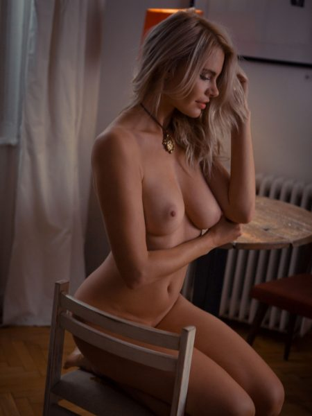 Miky Muse nude for Playboy
