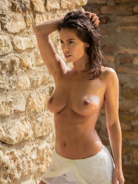Natalie Costello nude for Playboy