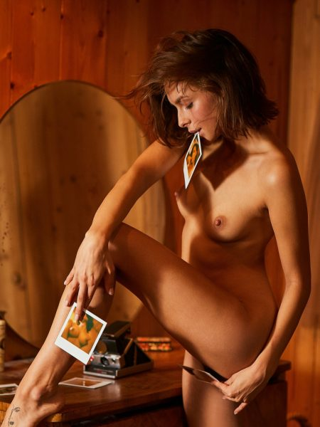 Olivia Peltzer in Playboy Germany Cover Shoot Vol. 5 nude for Playboy