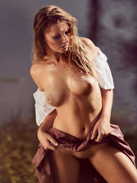Patrizia Dinkel nude for Playboy