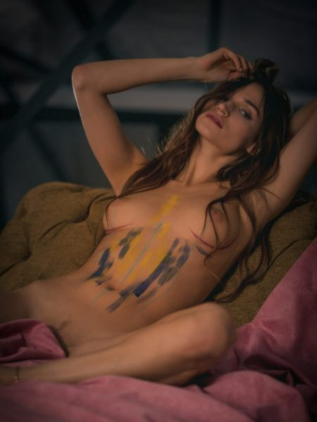 Ilvy Kokomo in Rather Playful nude for Playboy