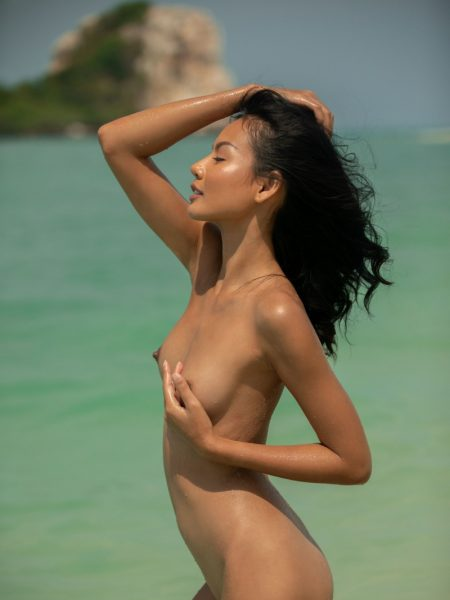 Magen Hana in Island Mentality nude for Playboy