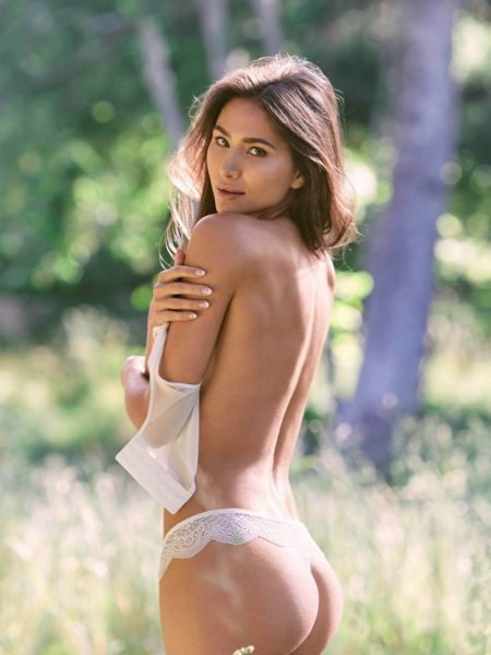 Raquel Santolaya nude for Playboy