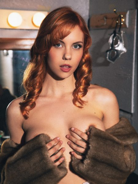 Kayla Coyote in Center Stage nude for Playboy