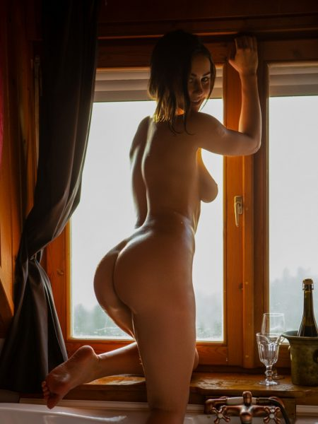 Sophie Limma in Sensual Relaxation nude for Playboy