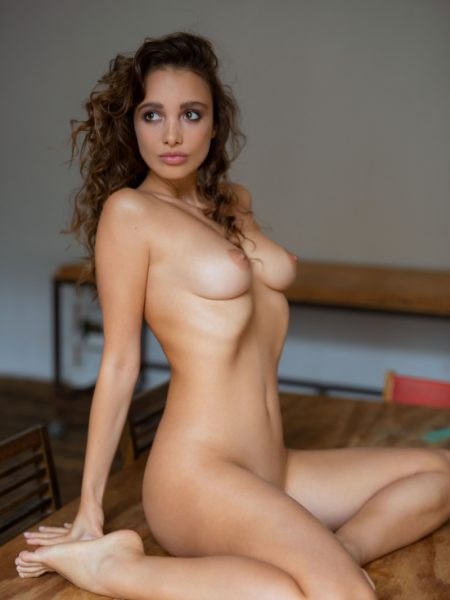 Calypso Muse in Sexy & Inviting nude for Playboy