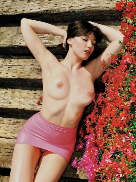 Daisy Lowe nude for Playboy
