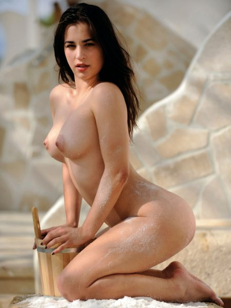Ena Friedrich nude for Playboy