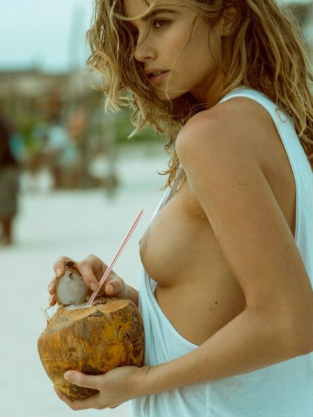 Gabriela Giovanardi in Absolute Paradise nude for Playboy