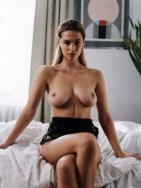 Hanna Serediuk nude for Playboy