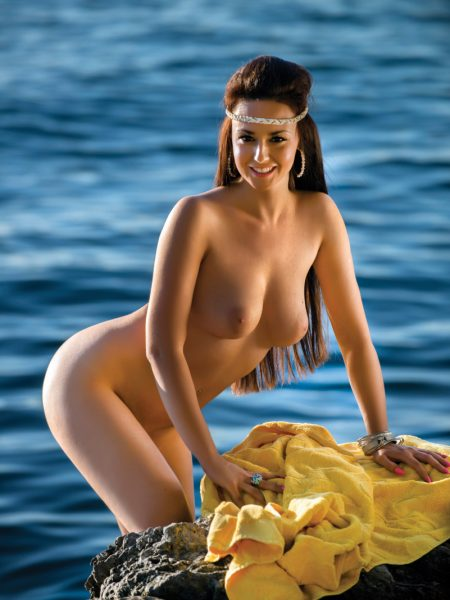 Ivana Barać in Mermaid nude for Playboy