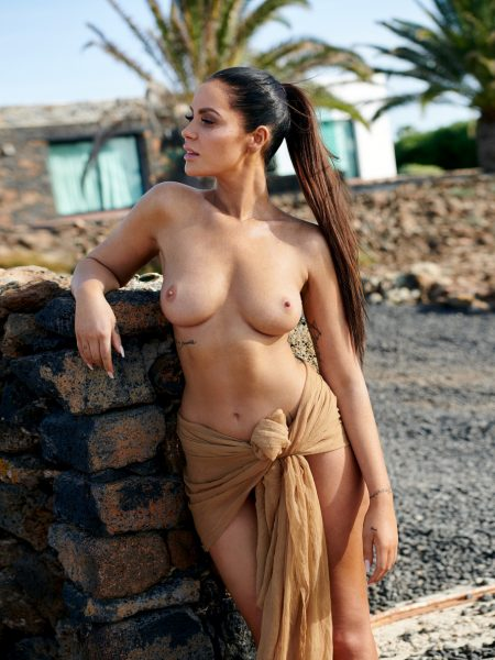 Janine Pink nude for Playboy