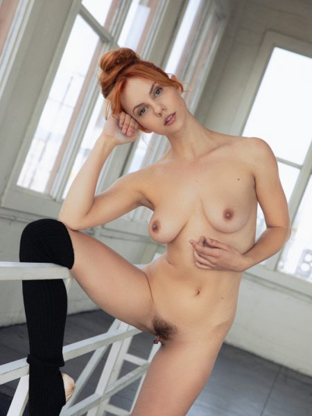 Kayla Coyote in Practice Makes Perfect nude for Playboy