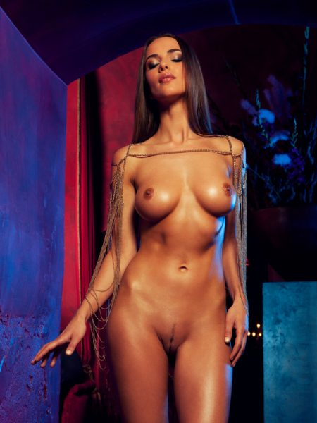 Lien Biesheuvel nude for Playboy