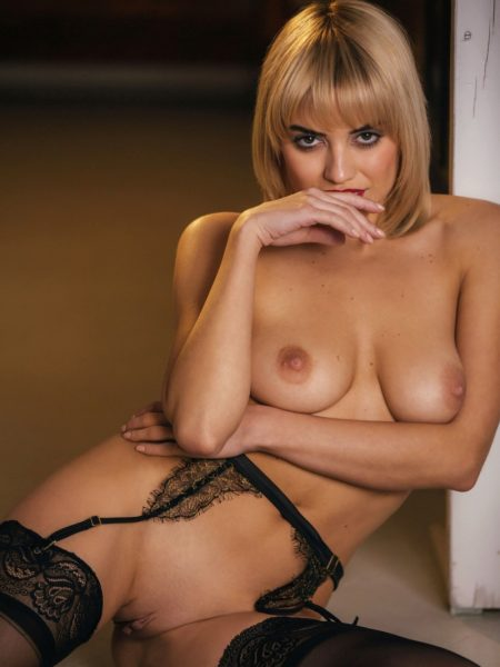 Margo Dumas in On The Floor nude for Playboy