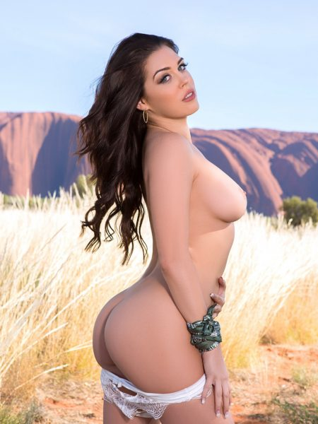 Marlee May nude for Playboy