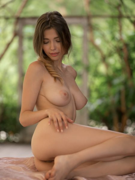 Mila Azul in Wondrous Curves nude for Playboy