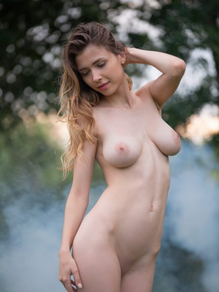 Mila Azul in Captivating Art nude for Playboy