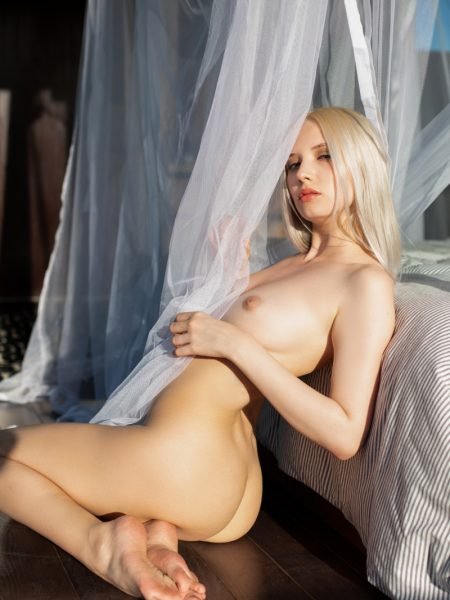 Monica Wasp in Luminous nude for Playboy
