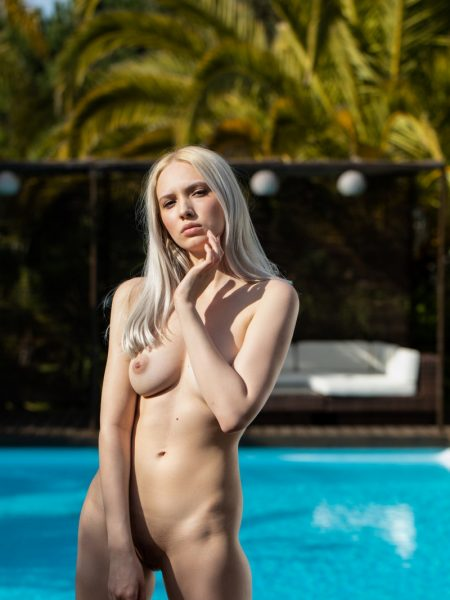 Monica Wasp in Warm Breeze nude for Playboy