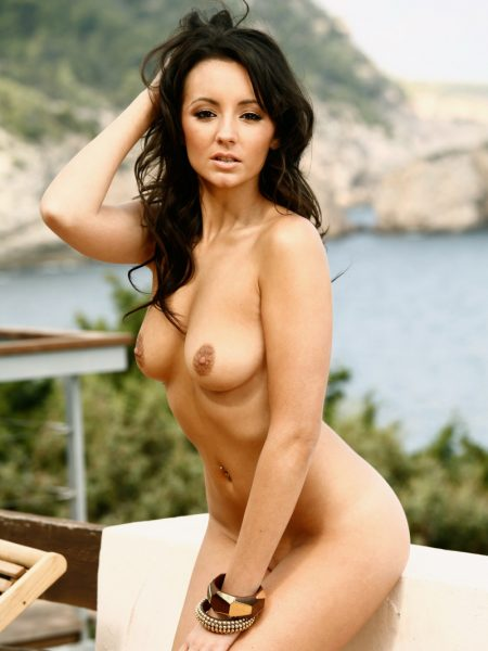 Rachel Boden nude for Playboy