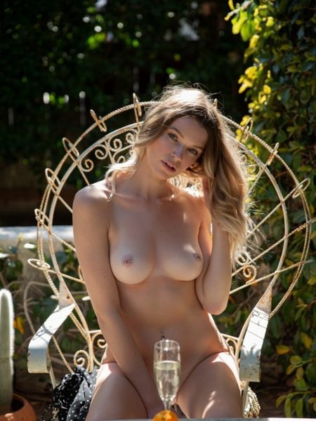 Brooke Lorraine in Tranquil Morning nude for Playboy