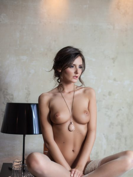 Sunshine in Served with A Twist nude for Playboy