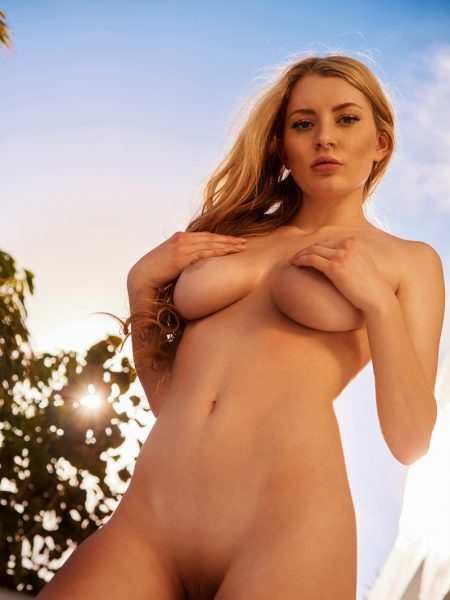 Isabella Strangmüller in July Playmate of The Month nude for Playboy