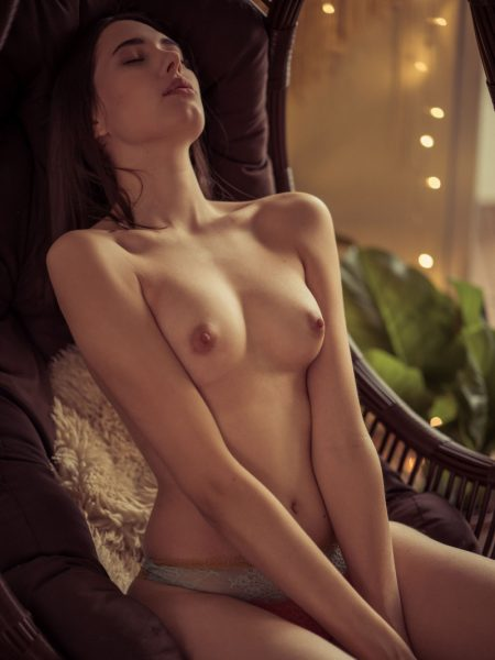 Katrine Pirs in Slow Touch nude for Playboy