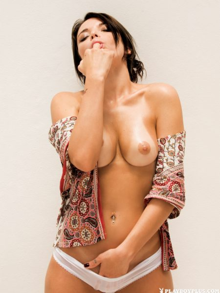 Flavia Monti nude for Playboy