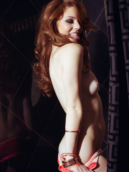 Tawny Swain nude for Playboy