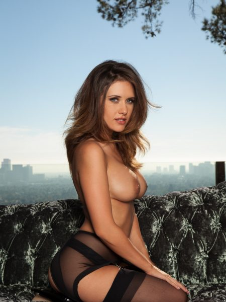 Carlie Christine nude for Playboy