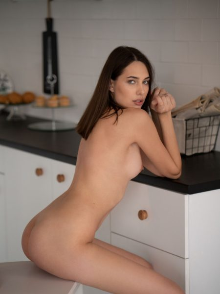 Katrine Pirs in Essence of Life nude for Playboy