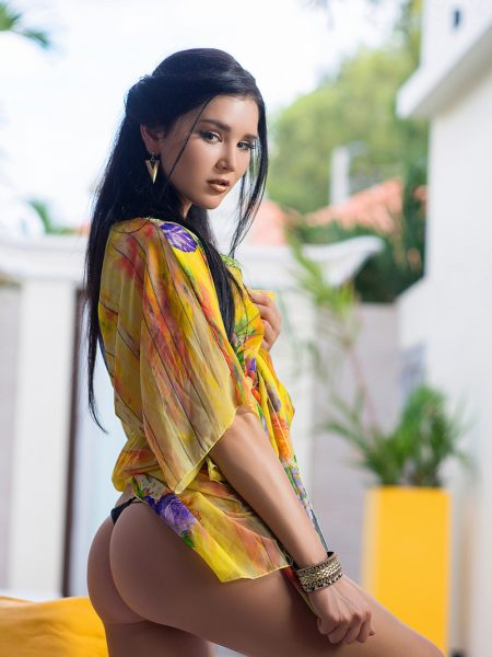 Malena nude for Playboy