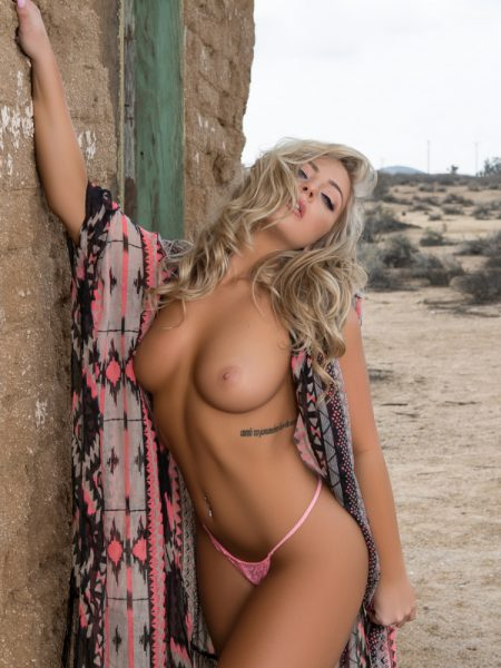 Teya Kaye nude for Playboy